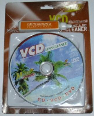 . . СД почистващ диск с течност
