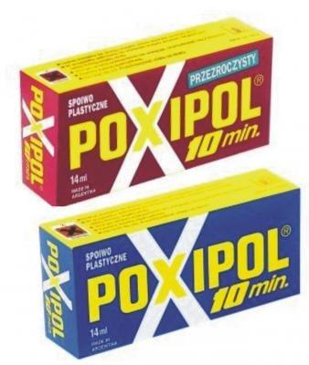 Лепило . POXIPOL - Червен-прозрачен