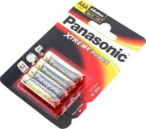 Батерия PANASONIC LR03/1,5V - EXTREME ALKAL