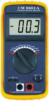 Измервателен уред . CM-9601A за измерване на капацитет