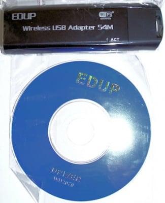 . . WIRELESS USB ADAPTER - EDUP 54M