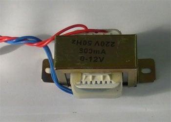 Трансформатор . 220/12V 1,0A