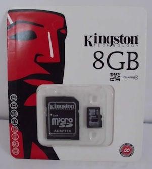 КАРТА . МИКРО-SD 8GB
