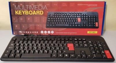 Компютърна  . Клавиатура ST-303