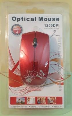 Компютърна мишка  . 1200DPI на USB
