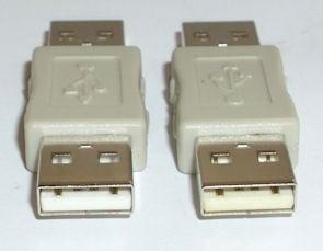 Букса . Компютърен преход - USB-A женско -- USB-A женско