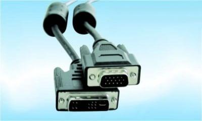 Кабел . компютърен 15M--24+1M DIV-D/VGA