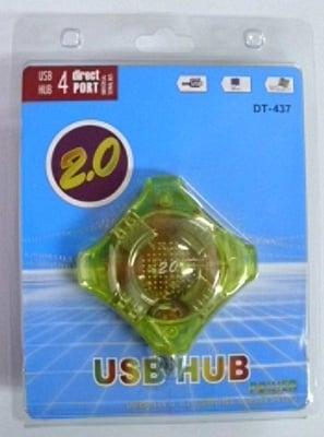 Кабел . компютърен преход 1-USB женско на 4-USB мъжки