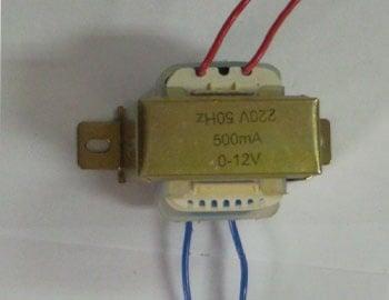 Трансформатор . 220/12V 0,5A