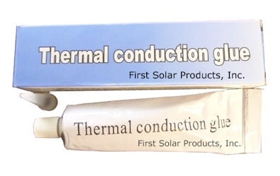 . . Термоконтактна силиконова паста 50G за слънчев колектор