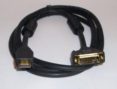 Кабел . компютърен HDMI-DVI 19M--24+1M