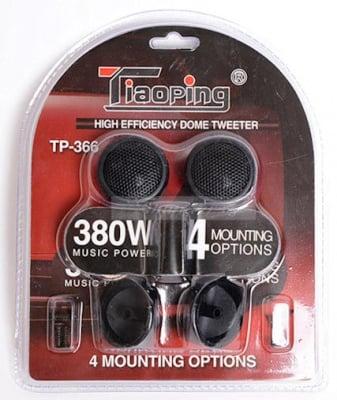 """Тонколони  . Високочестотни Пиезокристални Говорители 1"""" TCT-TP366 TWEETER PIEZZO, 4 Ohm, 150W"""