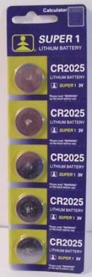Батерия . CR-2025 3V SUPER1