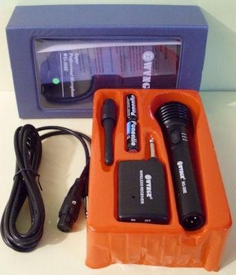 Микрофон . WG-308F/DM-308A безжичен и с кабел