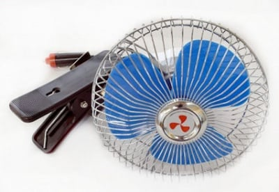 . . Вентилатор MSJ-802 - ( 17 см ) - 12 волта