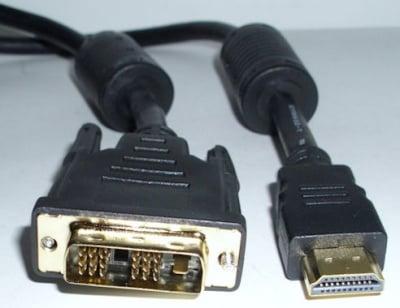 Кабел . компютърен HDMI-DVI-19M--9/9/1M