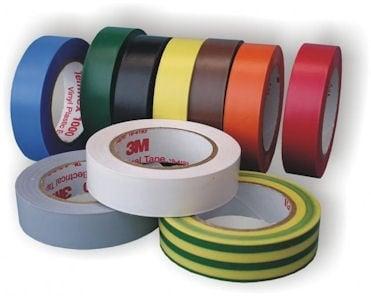 PVC лента, изолирбанд TEMFLEX 19mm/20м/0,15mm - жълто