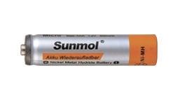 Батерия SUNMOL Акумулаторна R03 0,9A 1,2V