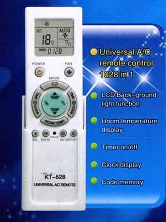 Дистанционно . Универсално за климатик KT-N818