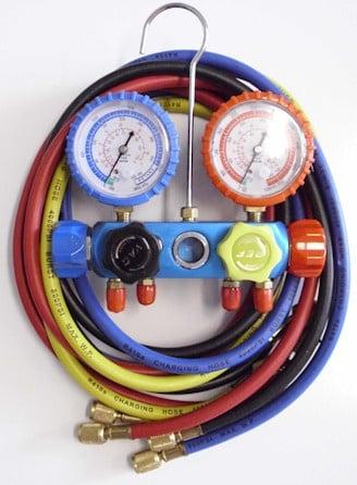 . . Манометричен комплект FC460G за фреон R134a/R404a/R407a