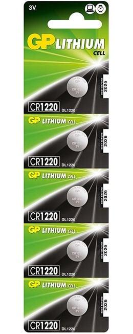 Батерия GP CR-1220  3V