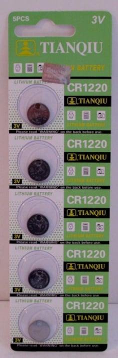 Батерия . CR-1220 3V