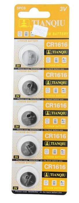 Батерия . CR-1616 3V TIANQIU