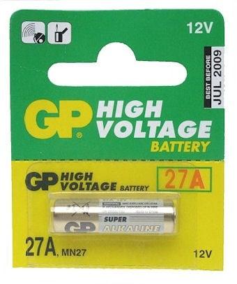 Батерия GP 27A 12V