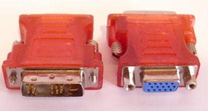 Букса . VGA-DVI компютърен преход 15Ж--4+8+5M DIV