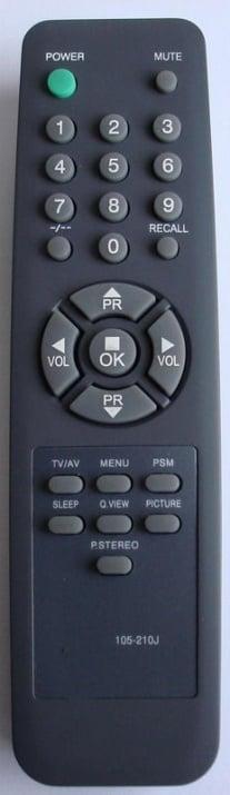 Дистанционно . TV-LG 105-210J