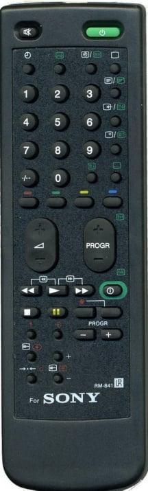 Дистанционно . TV-SONY RM-841