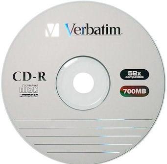 СД диск . CD-R 80MIN.VERBATIM