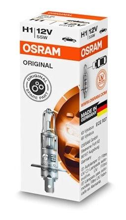 Автомобилна лампа OSRAM H1 12V/55W - Бяла