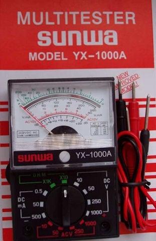 Измерванелен уред . YX-1000A