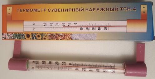 . . Външен термометър TCH-4