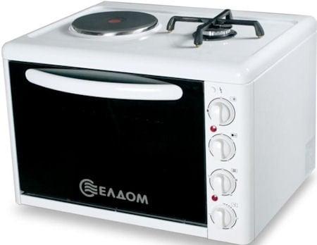 Готварска печка ЕЛДОМ комбинирана 213VFE