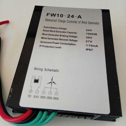 . . Контролер за ветрогенератор FW10-24-1000W