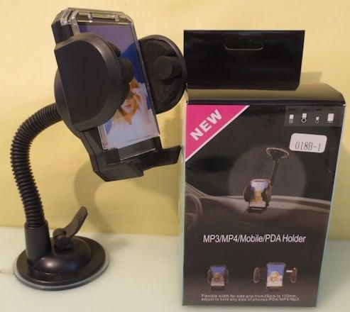. . Универсална стойка за автомибил за GPS навигация или GSM - 018B-1