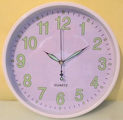 Часовник  . стаен фосфорен 295мм