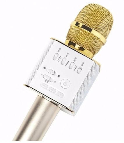Микрофон . Безжичен HiFi USB Q9 Ръчен Bluetooth микрофон с високоговорител