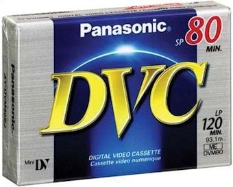 Видео касета PANASONIC DVM60 - мини за камера