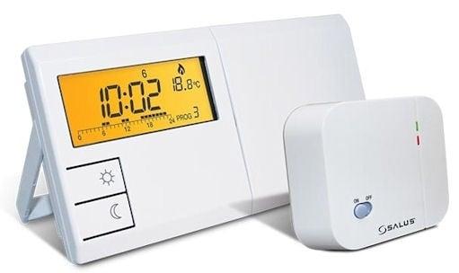 . . Безжичен, програмируем регулатор на температура – седмичен SALUS 091FLRF