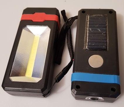 Прожектор  . -Фенер със соларен панел, LED светлина и магнит WR-8051