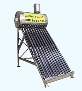 Слънчев вакуумен колектор EMDE-SOLAR MDSS470-58/1800-20 -220л.  -термосифонен,нераждаем