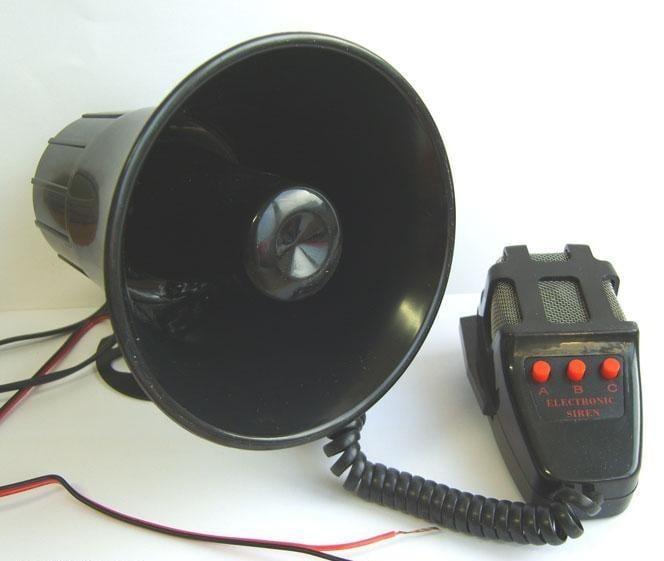 Сирена . Мегафон 60W