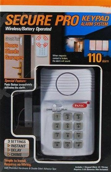 . . Домашна аларма с клавиатура Secure Pro Alarm System