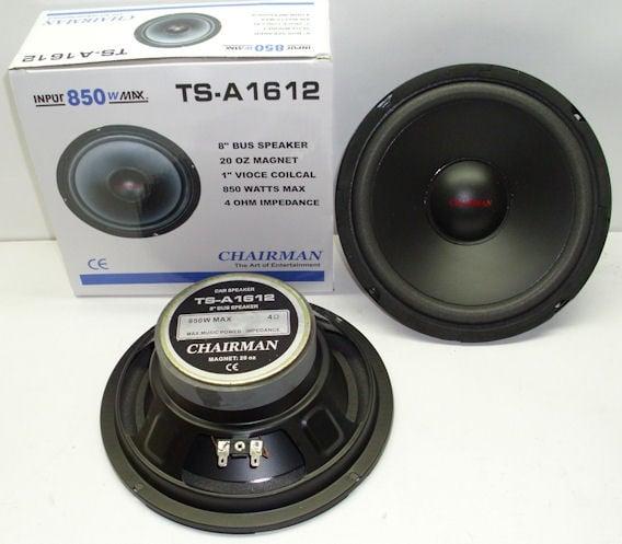 """Високоговорител  CHAIRMAN 8""""TS-A1612 - 4ом./850w"""