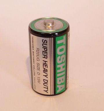 Батерия TOSHIBA R20U/1,5V