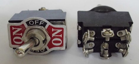 Ключ . KN3C-202A 6pin/2 позиций