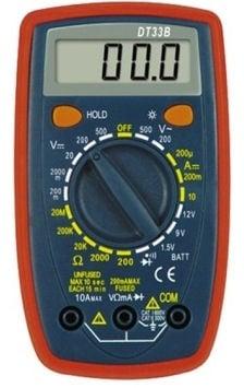 Измерванелен уред . Мултицет DT-33B